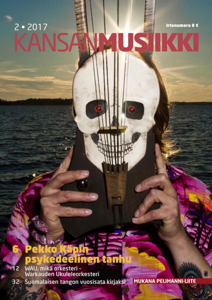 Kansanmusiikki 2/2017, Pekko Käppi, kuva: AJ Savolainen